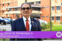 El Ing. Héctor M. Montemayor Á., Rector de la UTP, realizó el lanzamiento oficial del proyecto.