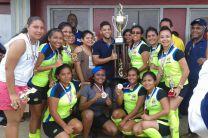 Equipo femenino ganador Centro Regional de Veraguas