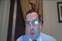 Mgtr. Alfonso Rosas, expositor invitado.