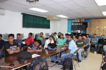 Estudiantes de la carrera de Licenciatura en Desarrollo de Software.