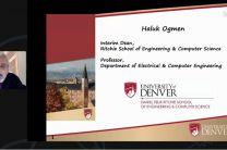 Dr. Haluk Ogmen, Director Encargado de la Escuela, Daniel Felix Ritchie, de Ingeniería de la Universidad de Denver.