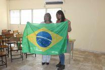 Licda. Rebeca Vergara de Nieto, junto a Solange Grundmann Gazola de Brazil.