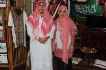 La cultura árabe fue representada por los grupos.