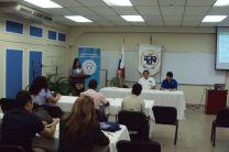 Mesa principal: Dr. Matteo Detto, Dr. Jose Fábrega y Dr. Reinhardt Pinzón.