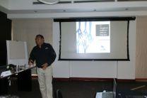 El Ing. David Vega, prensentó dos conferencias.