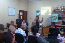 Docentes del IFAD reciben charla de motivación y sensibilización.