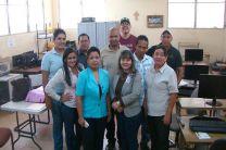 Profesores  de la UTP y de IFAD.