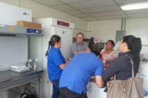 Visita a las instalaciones de la ARAP en Vacamonte.