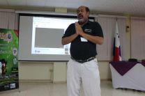 Mauro Rosero, de la Fraternidad de Software Libre de Panamá en FLISOL 2016.