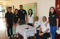 Parte del Equipo Organizador del FLISOL, Azuero 2016.