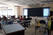 Dra. Yessica Saez en la II Jornada de Investigación en Azuero.