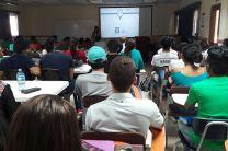 Estudiantes participantes en la II Jornada de Investigación.