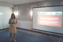 Licda. Luiyiana Pérez en su participación en la Conferencia Internacional LACCEI