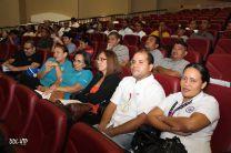 Personal del CEI en Actividad de Aniversario del Centro.