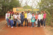 En la Entrada del Parque Nacional de Sarigua.