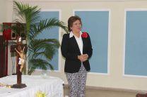 Ing. Esmeralda Hernández, Vicerrectora Administrativa.