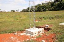 Antena de la próxima estación meteorológica en UTP Colón.