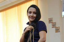 Elvira Meléndez, estudiante de l a UTP.