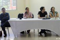 Administrativos, profesores, investigadores y estudiantes de la UTP.