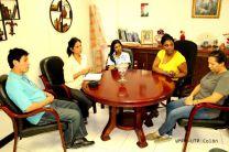 Representantes de CIHH se reúne con Autoridades de UTP Colón.
