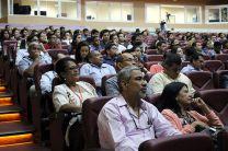 Participantes en la videoconferencia.