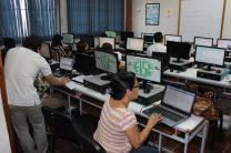 Participantes desarrollando el taller.
