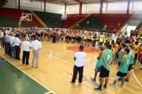 Ceremonia inauguración del Campeonato de Baloncesto Masculino y Femenino.