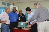Capacitan a colaboradores del CIHH en utilización de nuevos equipos científicos.