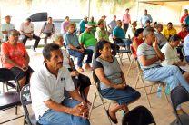 Moradores del área de Pacora.