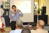 Dr. Rubiel Nieto Melgar, sensibilizando a UTP Colón.
