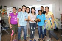 Estudiantes organizan actividad a las niñas del Hogar Medalla Milagrosa