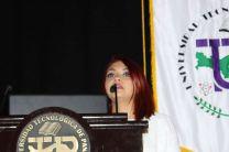 Rita Morice, Presidenta del IV Congreso Internacional de Ingeniería Mecánica.