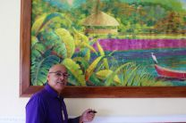 El Lienzo Mural, obra del Maestro David Vega.