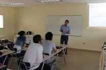 Expositor de la II Jornada de Investigación 2014, en Azuero.