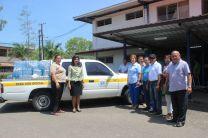 UTP -  Azuero recibe donación de agua.