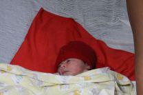 Bebé que nació el 13 de agosto de 2014.