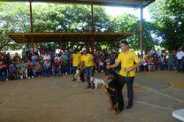 Exhibiciones por parte de la Unidad Canina.