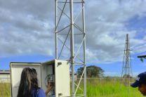 Revisión de la Estación Meteorológica.