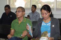 Jóvenes participan del evento