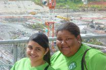 Estudiantes de la UTP Azuero, en visita por el Canal de Panamá.