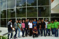 Delegación de la UTP - Azuero en el Campus Dr. Víctor Levi Saso.