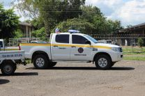 El Cuerpo de Bomberos de Panamá, apoyando a UTP - Azuero.