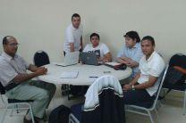 Grupo del Centro Regional de Azuero en las sesiones de trabajos.