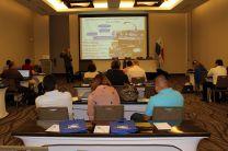 En esta reunión participan Oficiales del Organismo Internacional de Energía Atóm