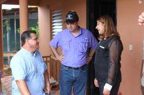 Autoridades del Gobierno y de la UTP Azuero intercambian opiniones.
