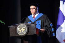 Dr. Oscar Ramírez, Rector de la UTP.