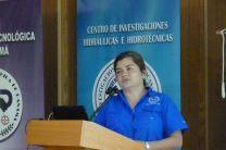 Ing. Iris Arjona, del CIHH.
