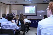 Estudiantes de Holanda visitan la Universidad Tecnológica de Panamá.