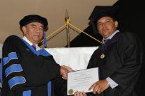 Entrega de Diplomas.