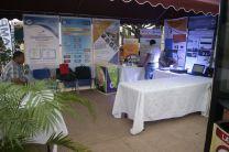 """Exhibición de proyectos dentro del stand del CITT-UTP para la comunidad en la """"Feria Expo Agroindustrial"""" en el marco de fundación del Distrito de Aguadulce."""
